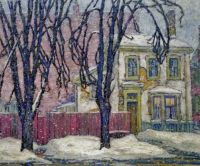 Snowfall, Lawren Harris