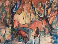Selden Connor Gile (American, 1877–1947), Cool Spot (1932)