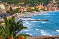 Idyllic Beach - Laigueglia, Italy