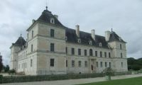 Chateau of Ancy le Franc, France