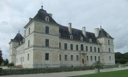 Chateau of Ancy le Franc, France