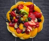 koláč s ovocem
