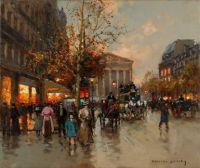 Paris by Édouard Cortès.