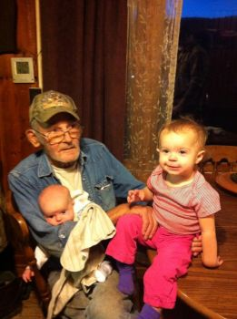 Emma, John and Pawpaw's daddy