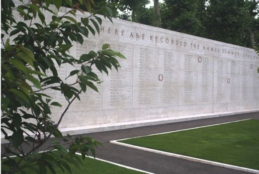 Netherland American Cemetery Wall of the Missing