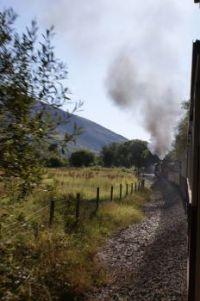 welsh highland railway train