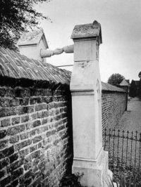 Graves of a Catholic woman and her Protestant husband in The Netherlands
