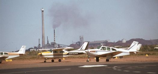 Mount Isa airport, Queensland, 1978