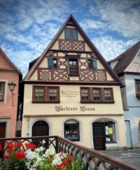 8.8 Bakery in Rothenburg, Germany