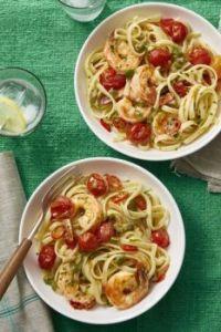 Shrimp Puttanesca for 2
