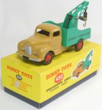 DINKY TOYS BREAKDOWN LORRY COMMER CHASSIS