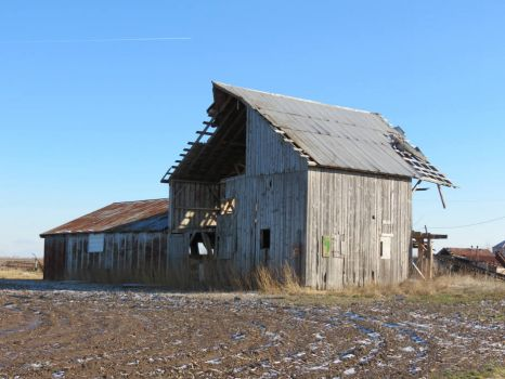 Barn on Abandoned Farm