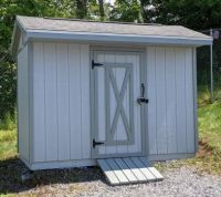 New stain on shed
