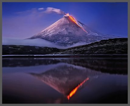 volcanic reflection
