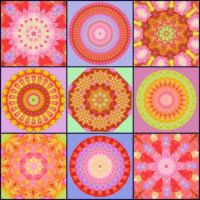 Bright Collage: Large