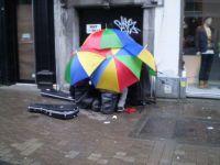 Irish street band