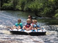 Grandkid fun on Sopchoppy River !