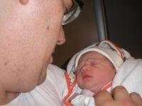 Emma en papa. 14-6-12