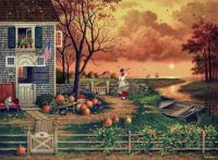 Supper Call by Charles Wysocki