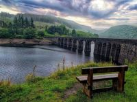 The Elan Valley Reservoir