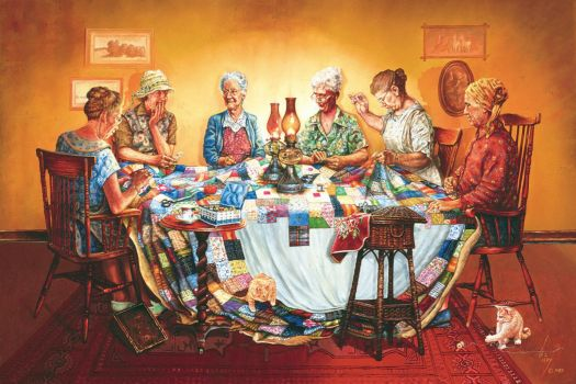 The Quilting Party - 600