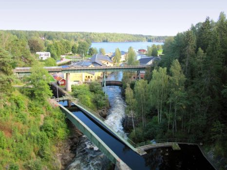 The Håverud Aquaduct, Sweden - for Ank!