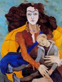 Mothers and Children  - Neş'e Erdok b.-1940 Istanbul,Turkey