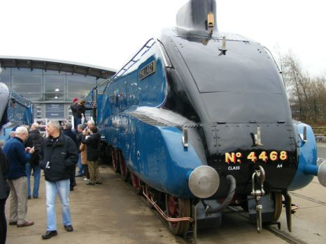 Mallard at Shildon Railway Museum