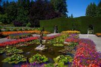 Butchart Gardens on July 30, 2021
