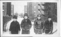 Who is the little boy on the far left?