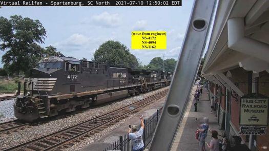 NS4172, 4094, 1116,  Spartanburg,SC ladder & WAVE