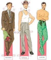 Paper Doll  ~  Actors