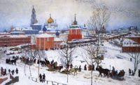 Konstantin Yuon. 'Winter. Rostov Veliky'. 1906