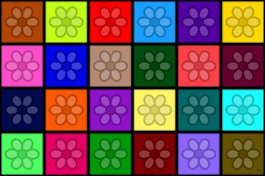 Daisy Squares!! ~ XL