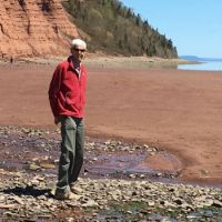 Beach at the bottom Of Blomidon in Kings County Nova Scotia