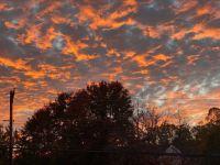 Startlingly beautiful sunset