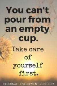 You can't pour from an empty cup (Medium)