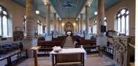 Alcester 23-04-2017 St Nicholas Parish Church internal westerly h Panorama 01