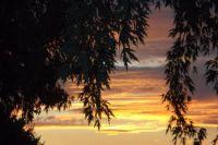 pretty sunset from lorraine