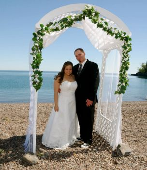 Wedding by Lake Superior
