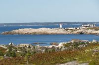 from pollys cove, looking at peggys cove