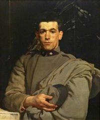 Glyn Warren Philpot (British, 1884–1937), Italian Soldier (1918)