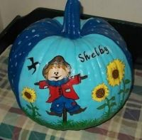 Pumpkins I've Painted For The Kiddos Throughout The Years (#1)