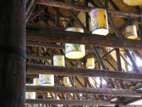 Paradise Inn chandeliers