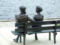 Alexander Graham Bell & Wife Monument