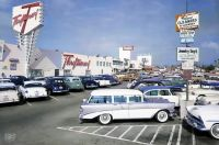 1950's - Thriftimart, Thrifty & McDaniel's Market on Laurel Canyon in Valley Plaza, North Hollywood, Ca.