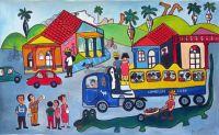 Cuban scene