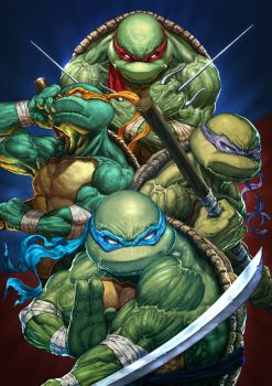 TMNT by Michele Frigo