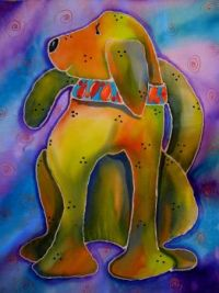Yvonne Feavearyear Art - This is Buddy