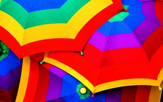 Colourful-Umbrellas